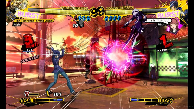 TNP tnp p4a 02 ACTU JEU   Persona 4 Arena sort du gel en Europe