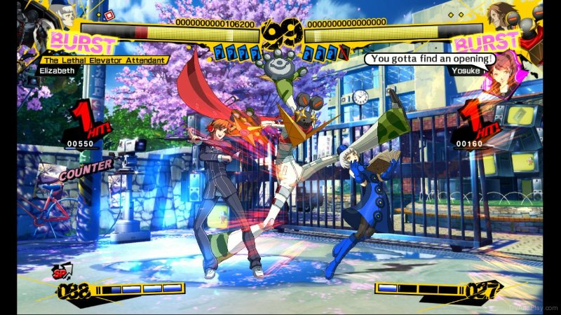 TNP tnp p4a 04 ACTU JEU   Persona 4 Arena sort du gel en Europe