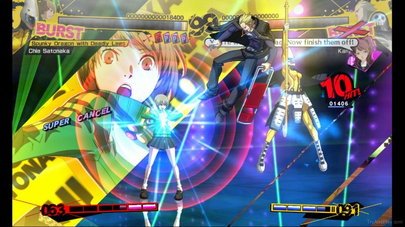 TNP tnp p4a 05 ACTU JEU   Persona 4 Arena sort du gel en Europe