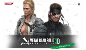 TNP Metal Gear Solid 3D Snake Eater The Naked Sample 300x177 Metal Gear Solid : Snake Eater 3DS se montre en anglais [GamePlay]