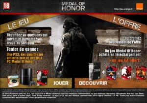 TNP app full proxy.php  300x211 Orange Jeux fête Medal of Honor [GamePlay]