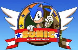 TNP sonicfanremix 300x192 Le vrai Sonic HD nest pas celui que vous croyez [Rewind]