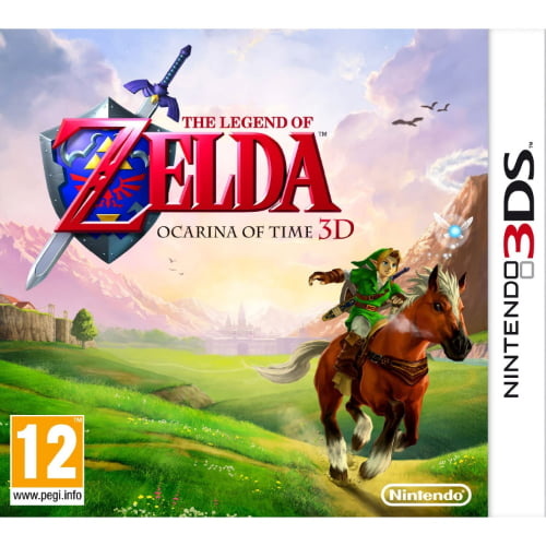 Zelda-3DS-jaquette jpgZelda Ocarina Of Time 3ds Gameplay