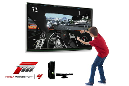 TNP forza4 kinect EVENEMENT   Forza Motorsport 4: entre rve et ralit