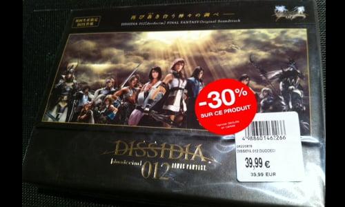 TNP dissidia012 03 BON PLAN   Chasse aux soldes jeux vidéo !