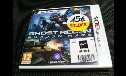 TNP ghostreconwars BON PLAN   Chasse aux soldes jeux vidéo !