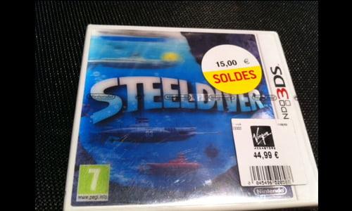 TNP steeldiver BON PLAN   Chasse aux soldes jeux vidéo !