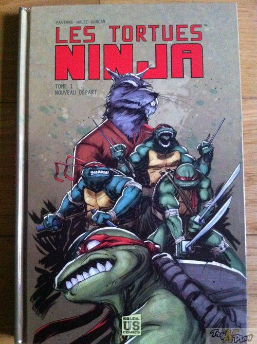 TNP VDG TMNT 02 02 2012 DEBALLAGE   Les Tortues Ninja sont de retour