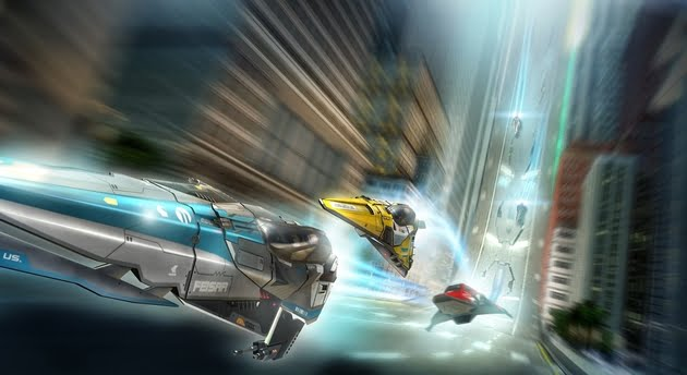 TNP wipeout 2048 EVENEMENT   PS Vita : La fiesta avant la Vita