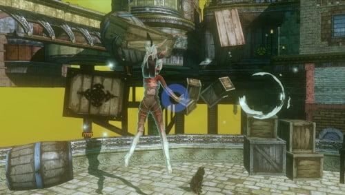TNP Gravity Rush Announcement 02 e1338229211350 EVENEMENT   PS Vita : Holiday Session [GameStop]