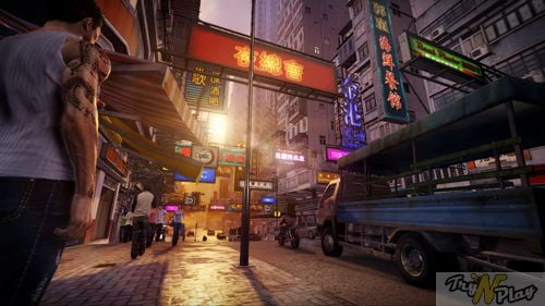TNP TNP SLEEPING DOGS 04 05 2012 Lumire sur... Sleeping Dogs [GameStop]