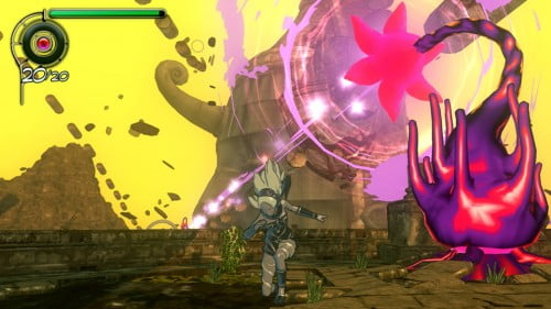 TNP gravityrush screens0001 e1338229160469 EVENEMENT   PS Vita : Holiday Session [GameStop]