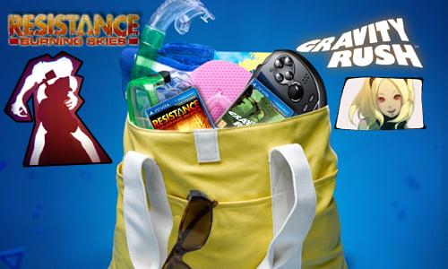 TNP holidaysession EVENEMENT   PS Vita : Holiday Session [GameStop]