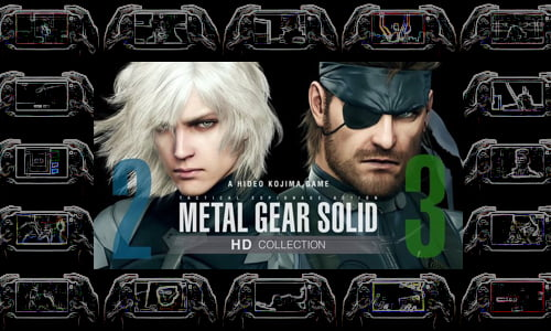 TNP MGSPSVITA header TEST   Metal Gear Solid HD PS Vita
