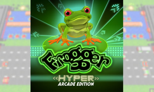 TNP grogger header TEST   Frogger: Hyper Arcade Edition PSN