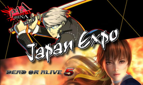TNP persona4 doa5 header EVENEMENT   Japan Expo: Dead or Alive 5 et Persona 4 Arena sexhibent
