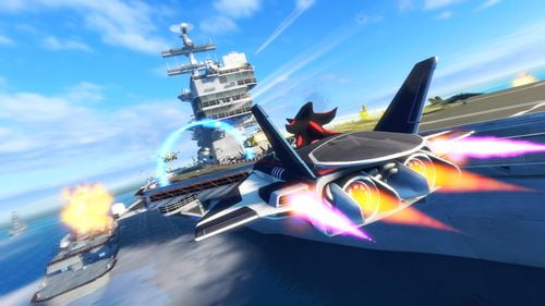 TNP 26892SART Afterburner 05 copy Lumire sur... Sonic All Stars Racing Transformed