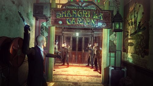 TNP HMA Contracts Elevatorkill Lumire sur... Hitman Absolution: Natural born killer