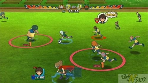 TNP IE11 10 TEST   Inazuma Eleven Strikers Wii