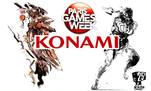 TNP TNP PGW2012 konami header1 Paris Games Week 2012   Konami clbre Kojima