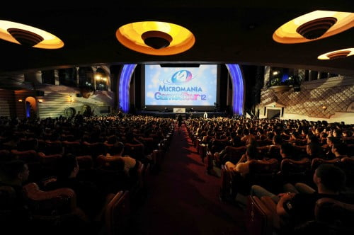 Soiree Micromania Games Tour 2012 au Grand Rex - Paris