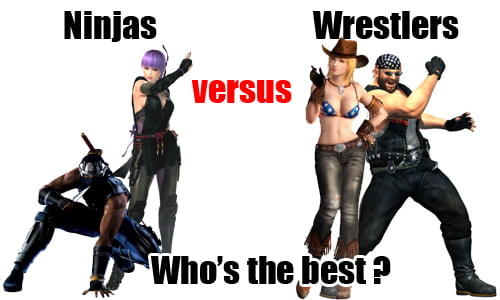 TNP ninjavswrestlers PAROLES DE GAMER   Dead or Alive 5 avec Neithan