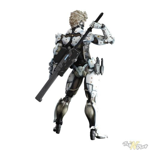 TNP MGR Limited Edition White Raiden Action Figure 02 ACTU JEU   Metal Gear Rising Revengeance: Deux Steelbooks sinon rien