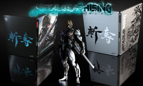TNP MGR header ACTU JEU   Metal Gear Rising Revengeance: Deux Steelbooks sinon rien