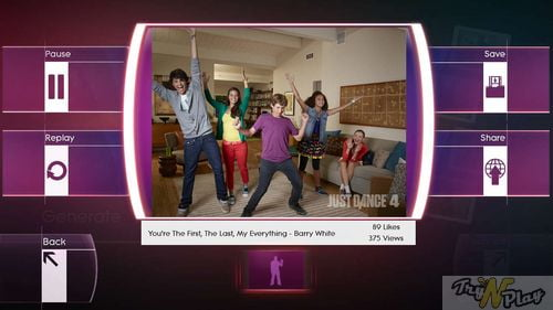 TNP TNP JD4 3 TEST   Just Dance 4 Kinect Xbox 360