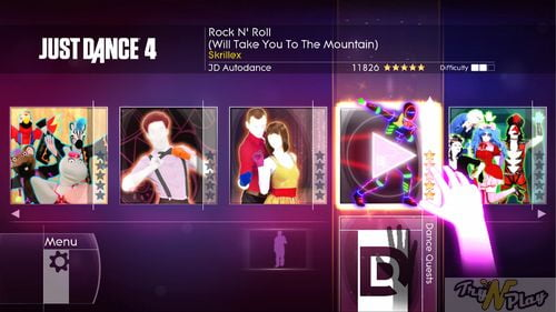 TNP TNP JD4 6 TEST   Just Dance 4 Kinect Xbox 360