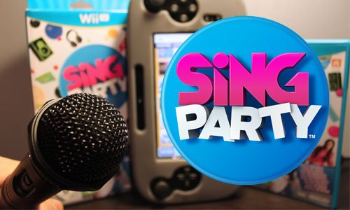 TNP singparty header TEST   Sing Party Wii U