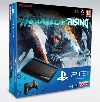TNP MGRBUNDLEPS3 01 ACTU JEU   Un bundle PS3 pour Metal Gear : Rising Revengeance