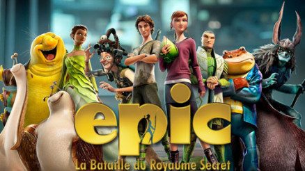 CRITIQUE CINE - EPIC : la Bataille du Royaume secret