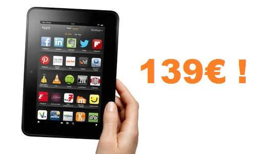 TNP Kindlefirehd header BON PLAN   Amazon : le Kindle Fire HD à 139€