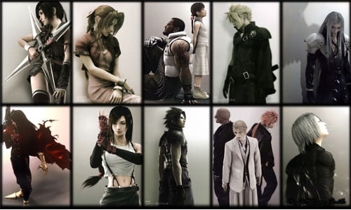 TNP FFVII roman CONCOURS Final Fantasy VII : On the Way to a Smile