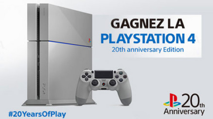 BON PLAN - Comment gagner une PS4 20th Anniversary ?